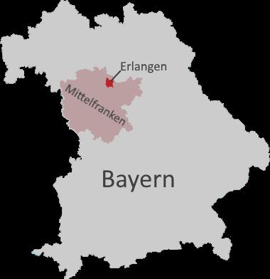 Bayern, Mittelfranken, Erlangen